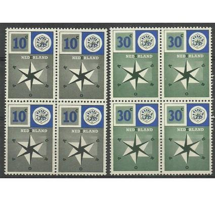 Znaczek Holandia 1957 Mi 704-705 Czyste **
