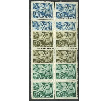 Znaczek Słowacja 1942 Mi 102-104 Czyste **