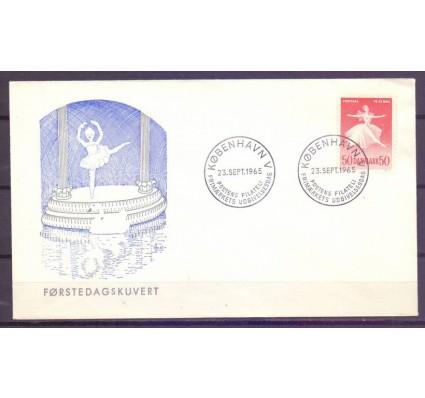 Znaczek Dania 1965 Mi 435 FDC