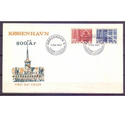 Znaczek Dania 1967 Mi 453-454 FDC