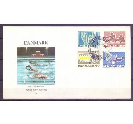 Znaczek Dania 1971 Mi 514-517 FDC