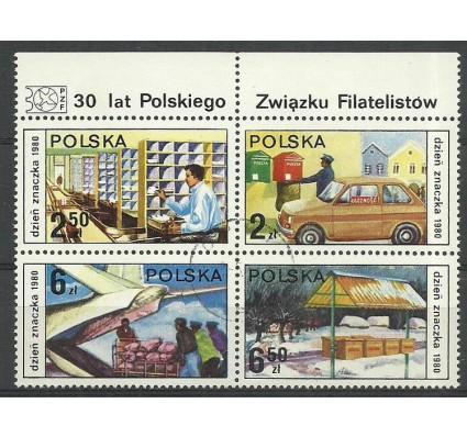 Znaczek Polska 1980 Mi 2715-2718 Fi 2567-2570 Stemplowane