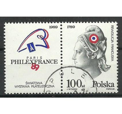Znaczek Polska 1989 Mi zf 3204 Fi zf 3056 Stemplowane