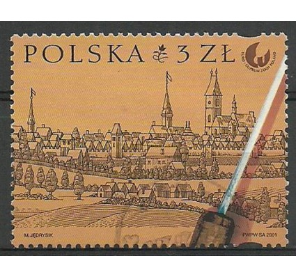 Znaczek Polska 2001 Mi 3912 Fi 3762B Stemplowane