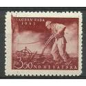 Chorwacja 1945 Mi 178 Czyste **