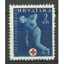 Chorwacja 1943 Mi zwa 2 Czyste **
