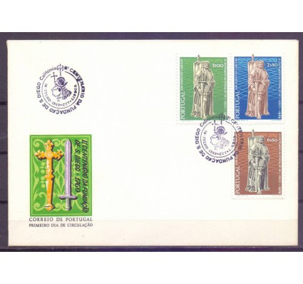 Znaczek Portugalia 1969 Mi 1079-1081 FDC