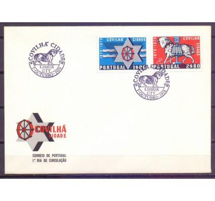 Znaczek Portugalia 1970 Mi 1111-1112 FDC