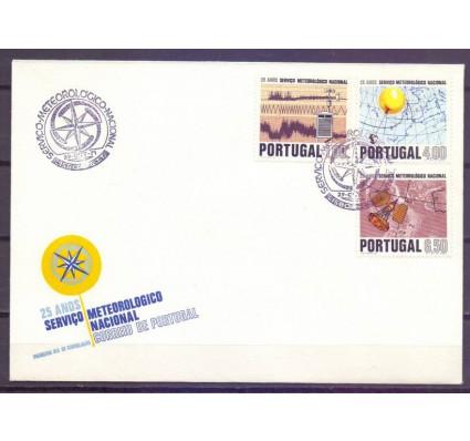 Znaczek Portugalia 1971 Mi 1146-1148 FDC