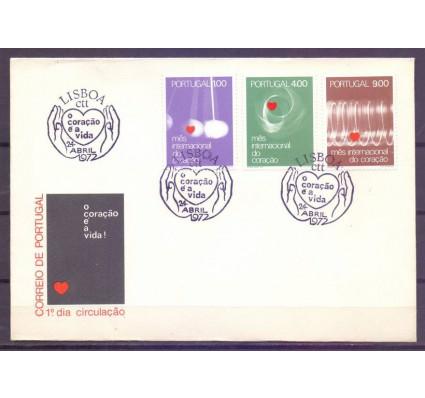 Znaczek Portugalia 1972 Mi 1163-1165 FDC