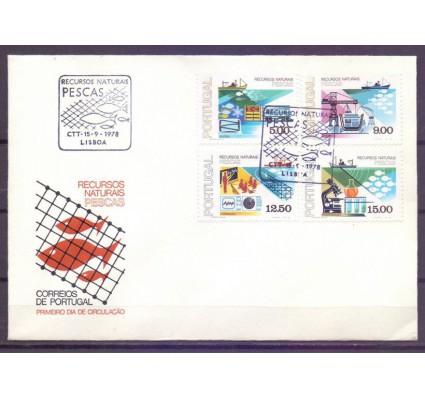 Znaczek Portugalia 1978 Mi 1413-1416 FDC
