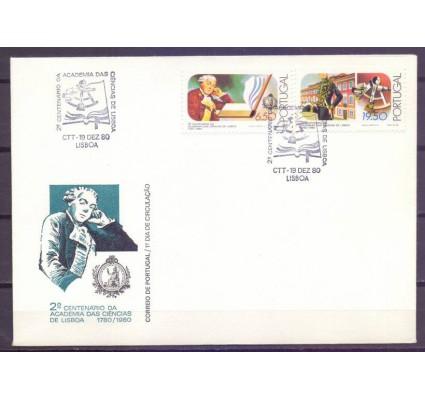 Znaczek Portugalia 1980 Mi 1510-1511 FDC