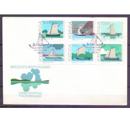 Znaczek Portugalia 1981 Mi 1516-1521 FDC