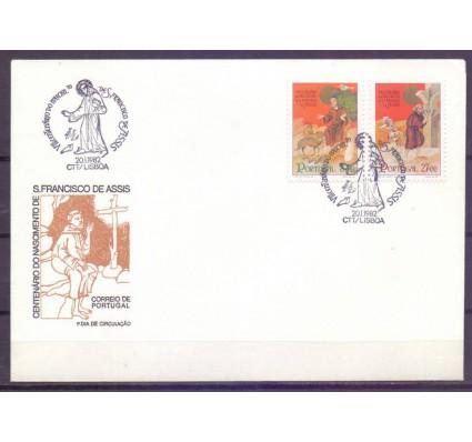 Znaczek Portugalia 1982 Mi 1552-1553 FDC