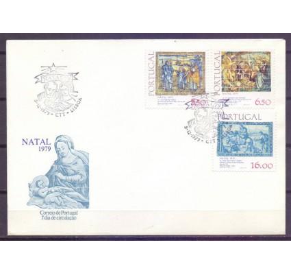 Znaczek Portugalia 1979 Mi 1469-1471 FDC