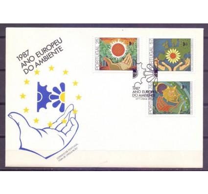 Znaczek Portugalia 1987 Mi 1717-1719 FDC