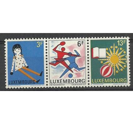 Znaczek Luksemburg 1969 Mi 785-787 Czyste **