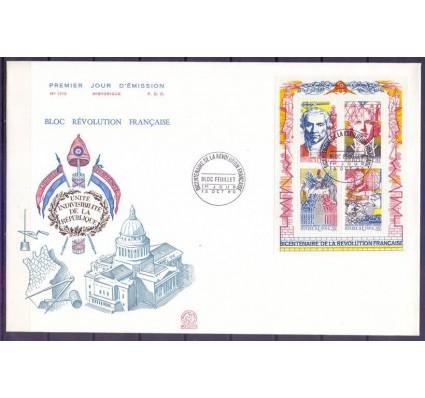 Znaczek Francja 1990 Mi bl 10 FDC