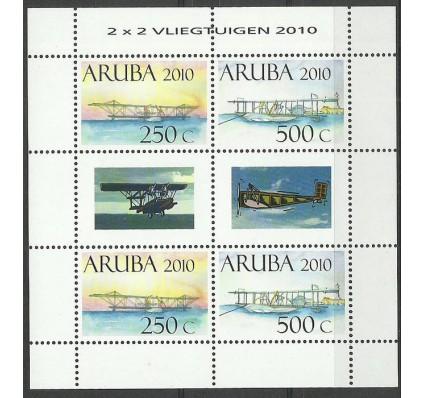 Znaczek Aruba 2010 Mi ark 484-485 Czyste **