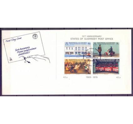 Znaczek Guernsey 1979 Mi bl 2 FDC