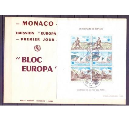 Znaczek Monako 1979 Mi bl 15 FDC