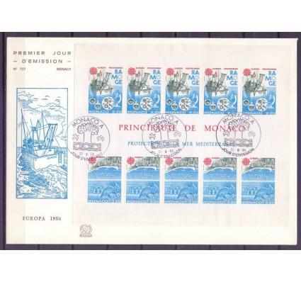 Znaczek Monako 1986 Mi bl 32 FDC