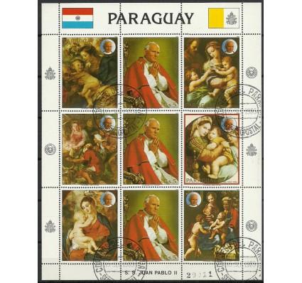 Znaczek Paragwaj 1983 Mi ark 3627 Stemplowane