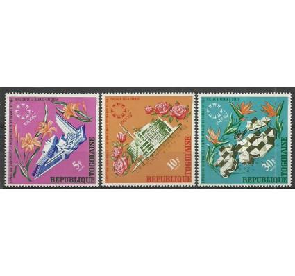 Znaczek Togo 1967 Mi 578-580 Czyste **