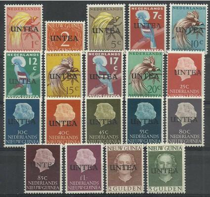 Znaczek Nowa Gwinea Holenderska 1962 Mi 1-19II Czyste **