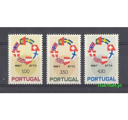 Znaczek Portugalia 1967 Mi 1043-1045 Czyste **