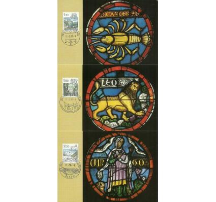 Znaczek Szwajcaria 1983 Mi 1242-1244 Karta Max