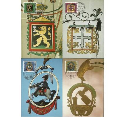 Znaczek Szwajcaria 1983 Mi 1251-1254 Karta Max