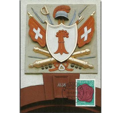 Znaczek Szwajcaria 1983 Mi 1255 Karta Max