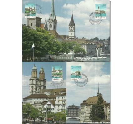 Znaczek Szwajcaria 1984 Mi 1276-1279 Karta Max