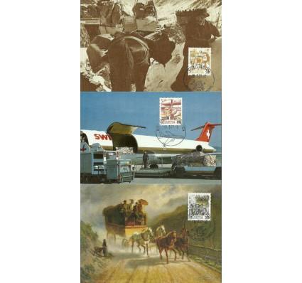 Znaczek Szwajcaria 1987 Mi 1340-1344 FDC