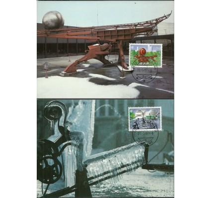 Znaczek Szwajcaria 1987 Mi 1349-1350 Karta Max