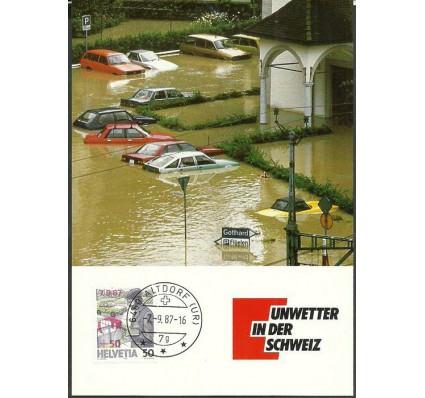 Znaczek Szwajcaria 1987 Mi 1358 Karta Max