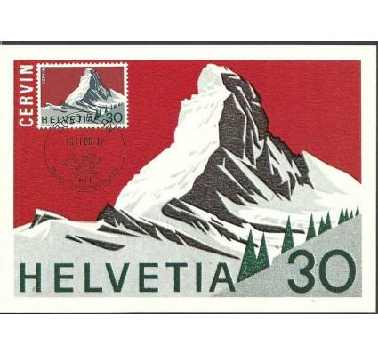Znaczek Szwajcaria 1965 Mi 821 Karta Max