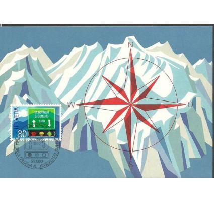 Znaczek Szwajcaria 1980 Mi 1186 Karta Max