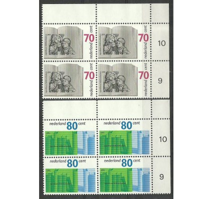 Znaczek Holandia 1991 Mi 1421-1422 Czyste **