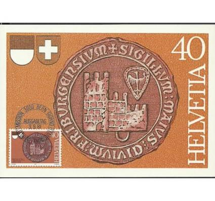 Znaczek Szwajcaria 1981 Mi 1203 Karta Max