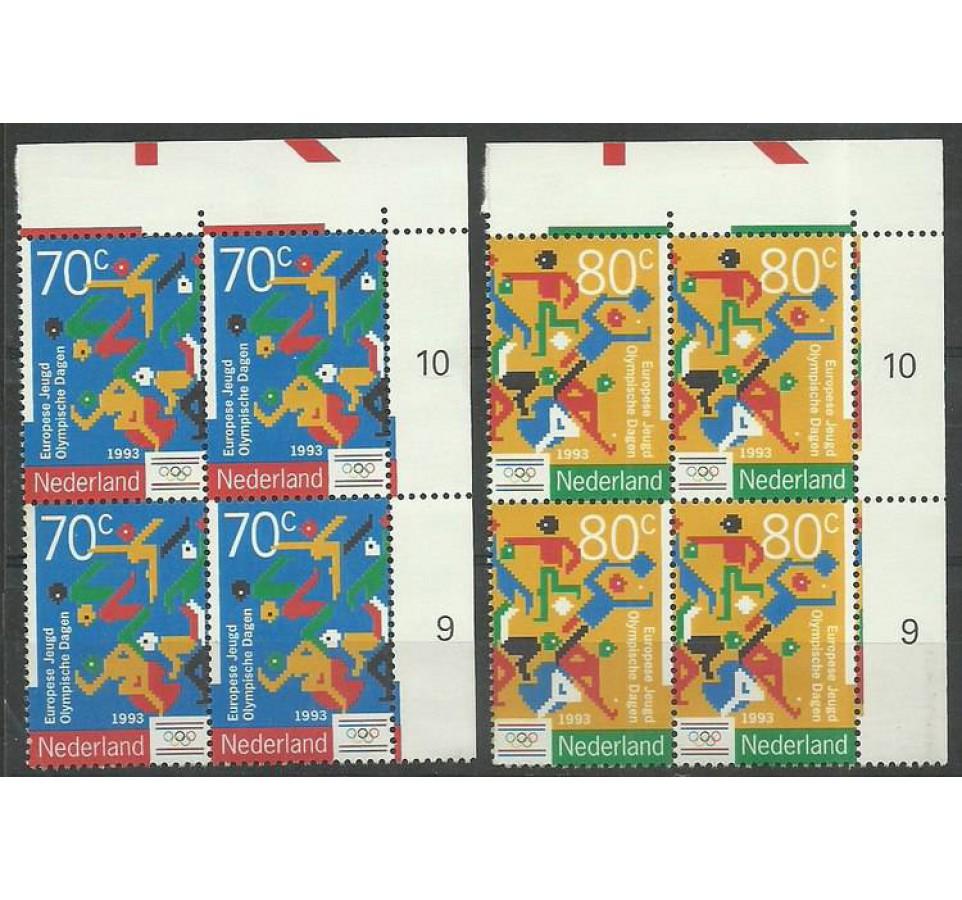 Holandia 1993 Mi 1479-1480 Czyste **