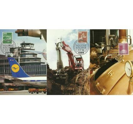 Znaczek Niemcy 1982 Mi 1134-1138 Karta Max