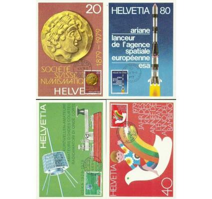Znaczek Szwajcaria 1979 Mi 1161-1164 Karta Max