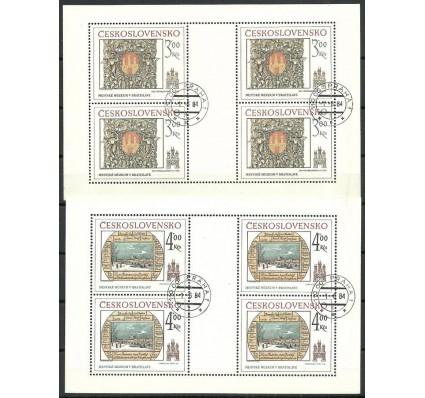 Znaczek Czechosłowacja 1984 Mi ark 2770-2771 Stemplowane