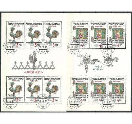 Znaczek Czechosłowacja 1984 Mi ark 2773-2774 Stemplowane