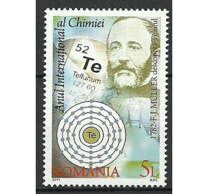 Znaczek Rumunia 2011 Mi 6561 Czyste **