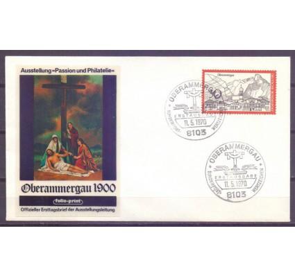 Znaczek Niemcy 1970 Mi 622 FDC