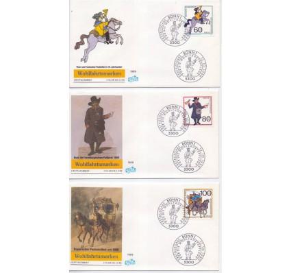 Znaczek Niemcy 1989 Mi 1437-1439 FDC