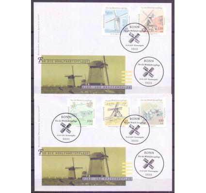 Znaczek Niemcy 1997 Mi 1948-1952 FDC
